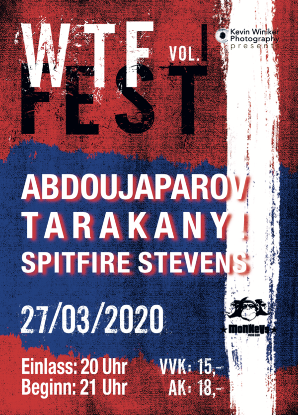 WTF Fest Vol. I Ticket